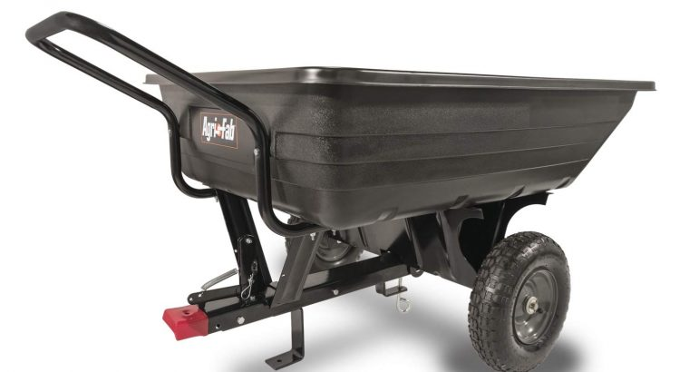 Agri-Fab Tow/Push Poly Tipping Cart