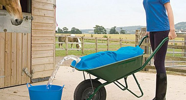 Equestrian/Stable Water Container Wheelbarrow Carrier Bag (50 Litre)