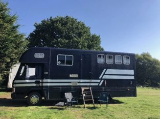 horsebox 7.5ton – Layland Daf 45-160, stalled for 3, 24ft long