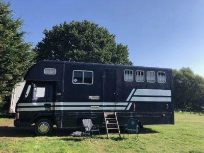 horsebox 7.5ton – Layland Daf 45-160, stalled for 3, 24ft long