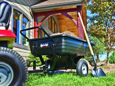 Agri-Fab Tow/Push Poly Tipping Cart