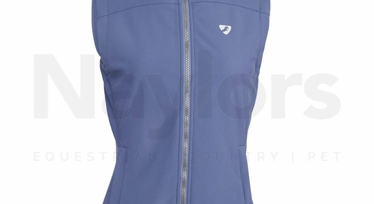 Aubrion Ladies Palmer Softshell Gilet Blue