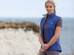 Aubrion Ladies Palmer Softshell Gilet Blue