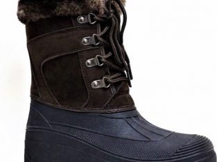 Womens Mukker Stable Yard Winter Snow Lace Up Boots