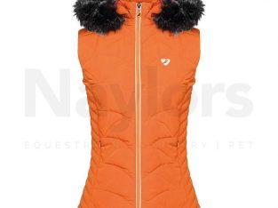 Aubrion Ladies Thistledown Padded Gilet Burnt Orange