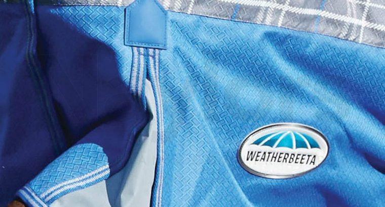 WeatherBeeta ComFiTec Premier Free 360g Heavyweight Combo Turnout Rug Black/Boysenberry