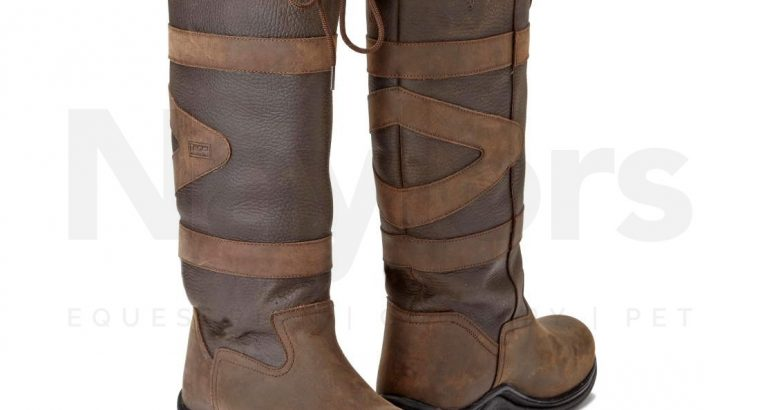 Toggi Ladies Canyon Riding Boots Chocolate