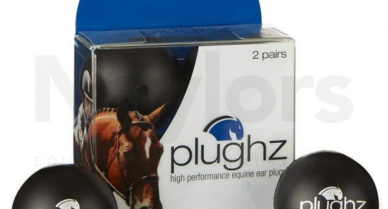 Plughz Ear Plugs Black