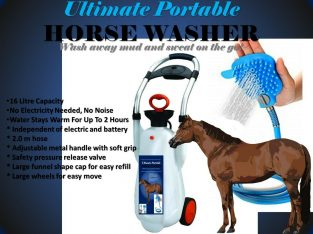 Ultimate Portable HORSE WASHER Horse Shower Hot Shower + FREE UK POSTAGE!