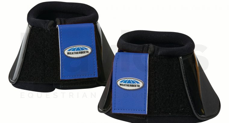 WeatherBeeta Impact Bell Boots Black/Royal Blue