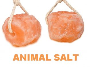 Onex 2x 2-3KG Natural Himalayan SALT HORSE LICK Animal Supplement Salt