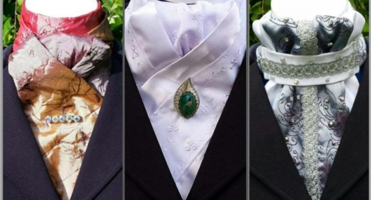 Beautiful Handmade Stock Ties
