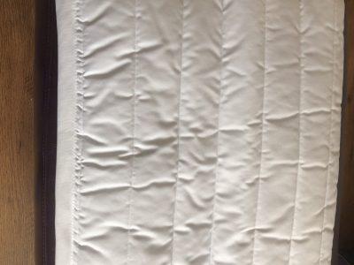 White Dressage Poly Pad
