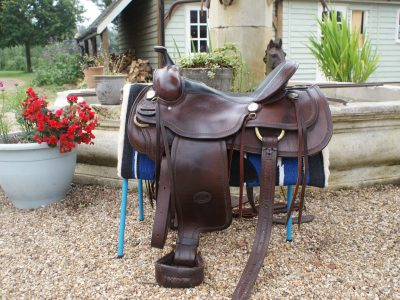 BILLY COOK GENUINE WESTERN SADDLE 14 IN/16 ENGLISH